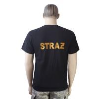 t-shirt z herbem haft komputerowy