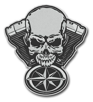 naszywki na zloty motocyklowe, haftowane
