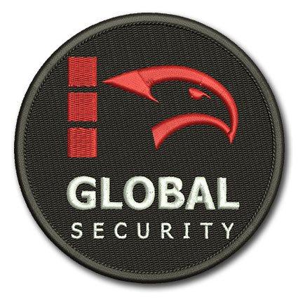 naszywka z logo firmy, ochrona