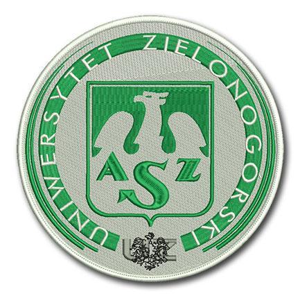 tarcza haftowana, uniwersytet, emblemat
